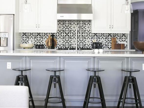 [BST] Mẫu gạch bông cho phòng bếp thêm ấn tượng