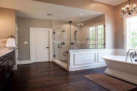 Ván sàn cho phòng tắm tại sao không?