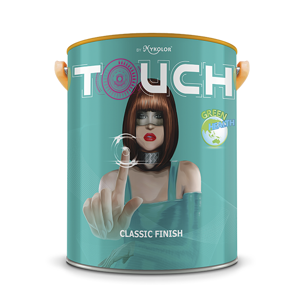 MYKOLOR TOUCH CLASSIC FINISH (4L)