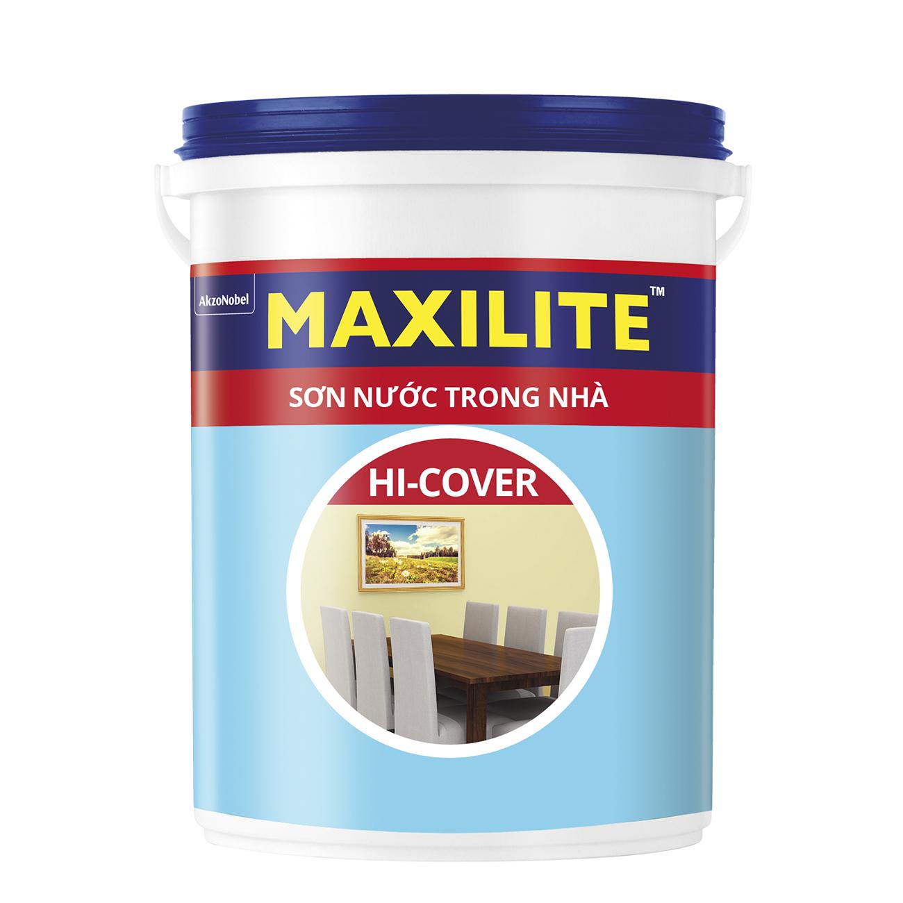 SƠN NƯỚC TRONG NHÀ MAXILITE HI-COVER 18 LÍT