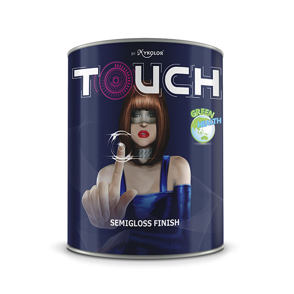 MYKOLOR TOUCH SEMIGLOSS FINISH (1L)