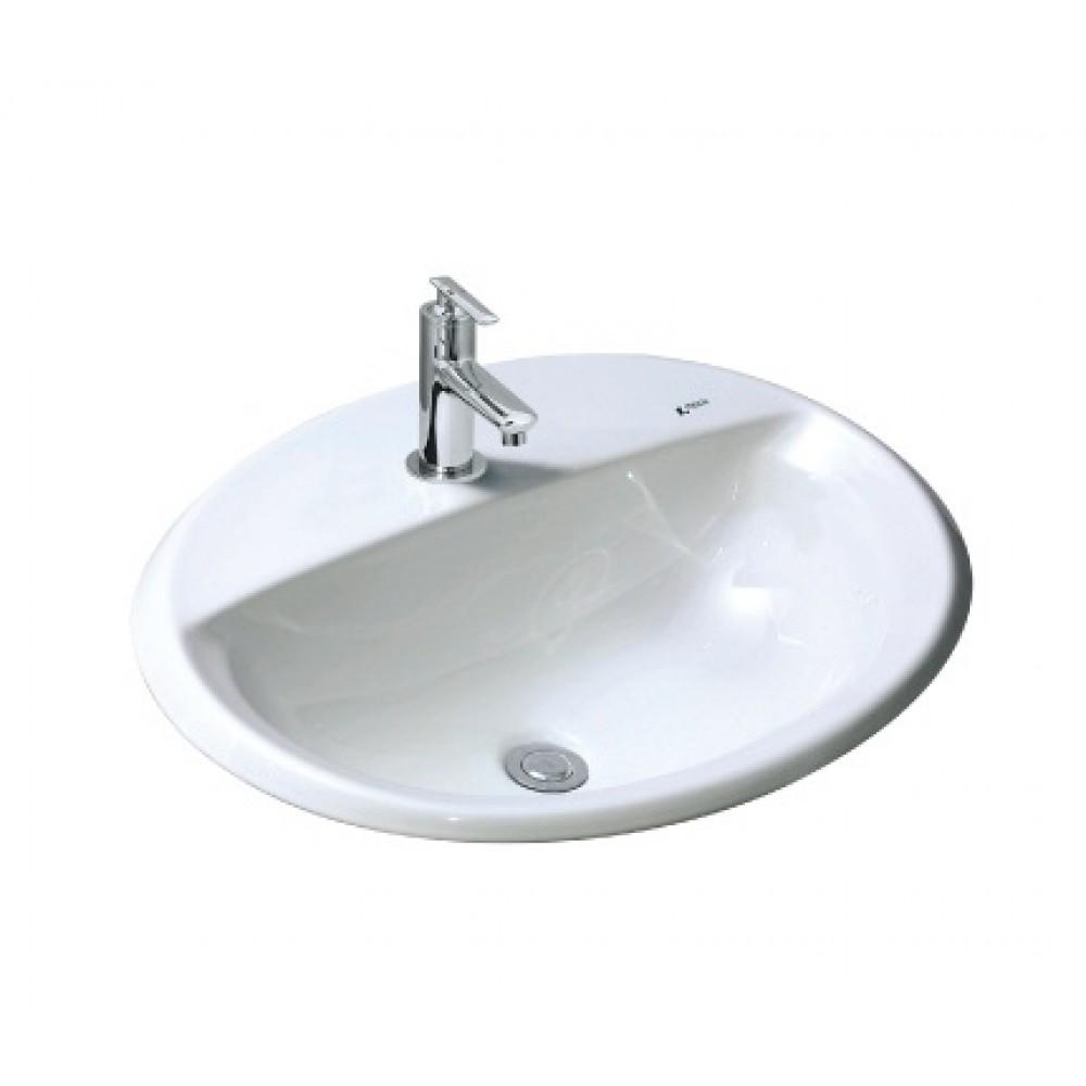 Chậu rửa dương bàn INAX L-2395VEC/BW1