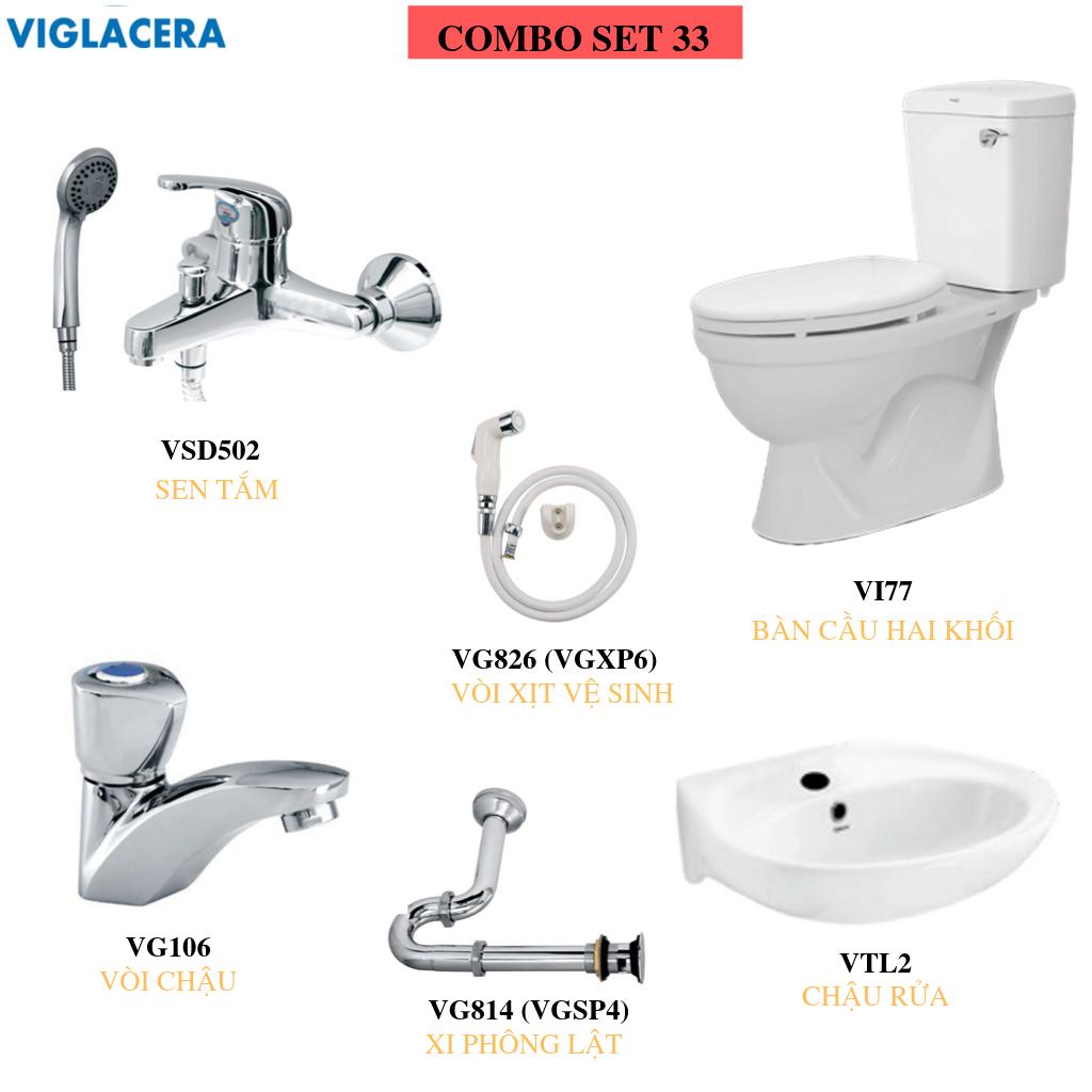 COMBO VIGLACERA SET 33COMBO VIGLACERA SET 33