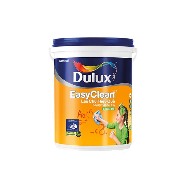 Dulux EasyClean Lau Chùi Hiệu Quả Bề Mặt Mờ