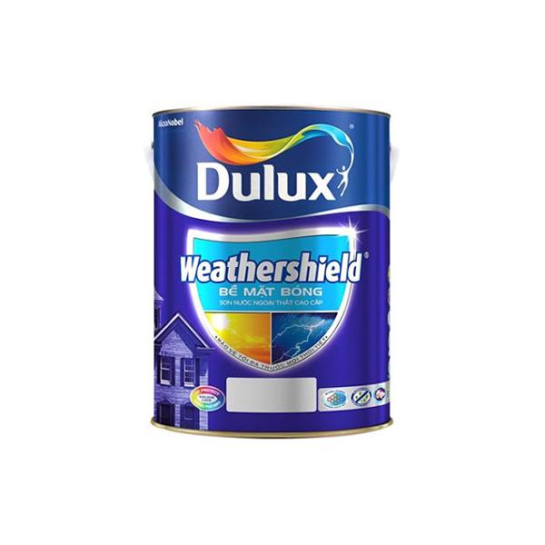 Dulux Weathershield Bề Mặt Bóng
