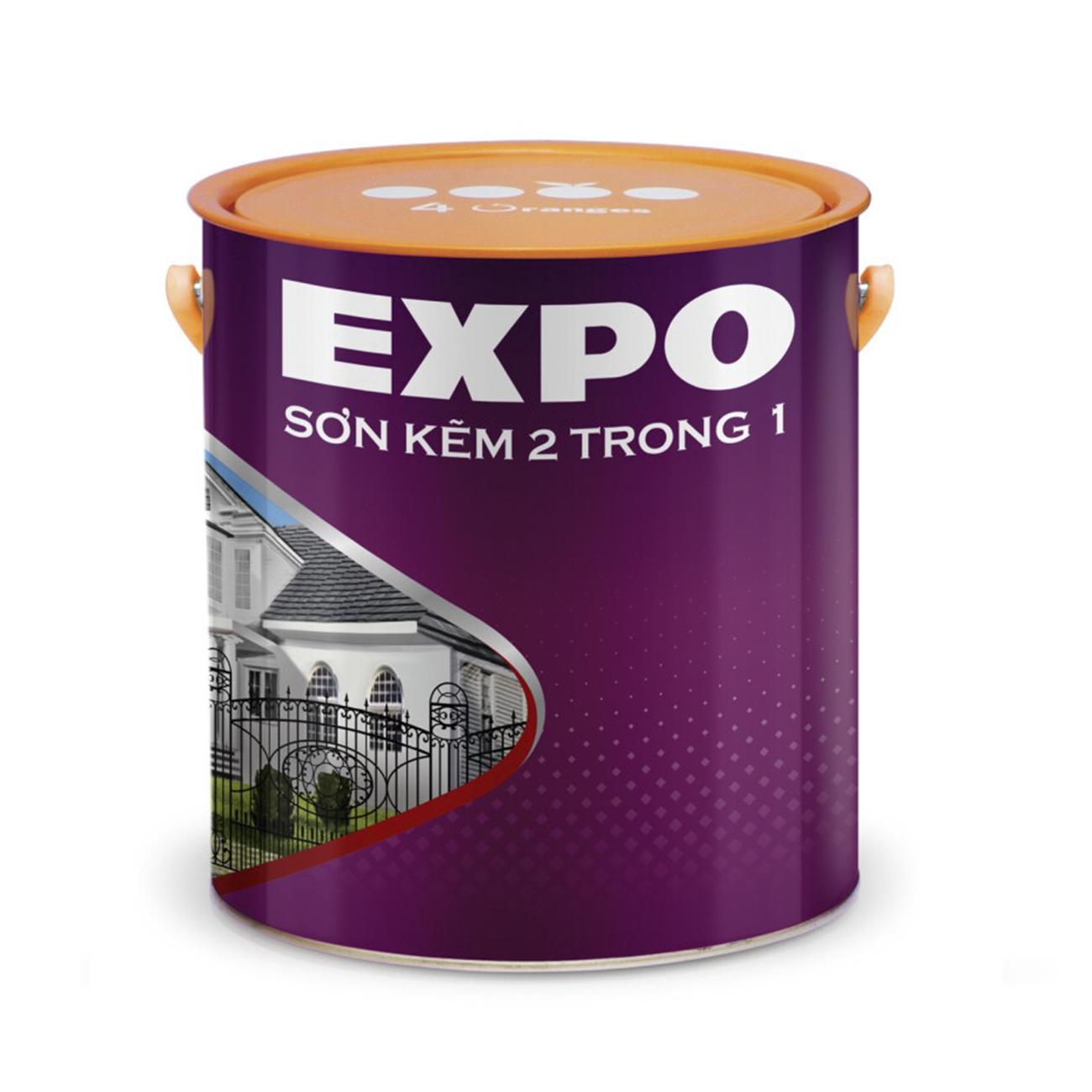 SƠN KẼM EXPO - 2 TRONG 1