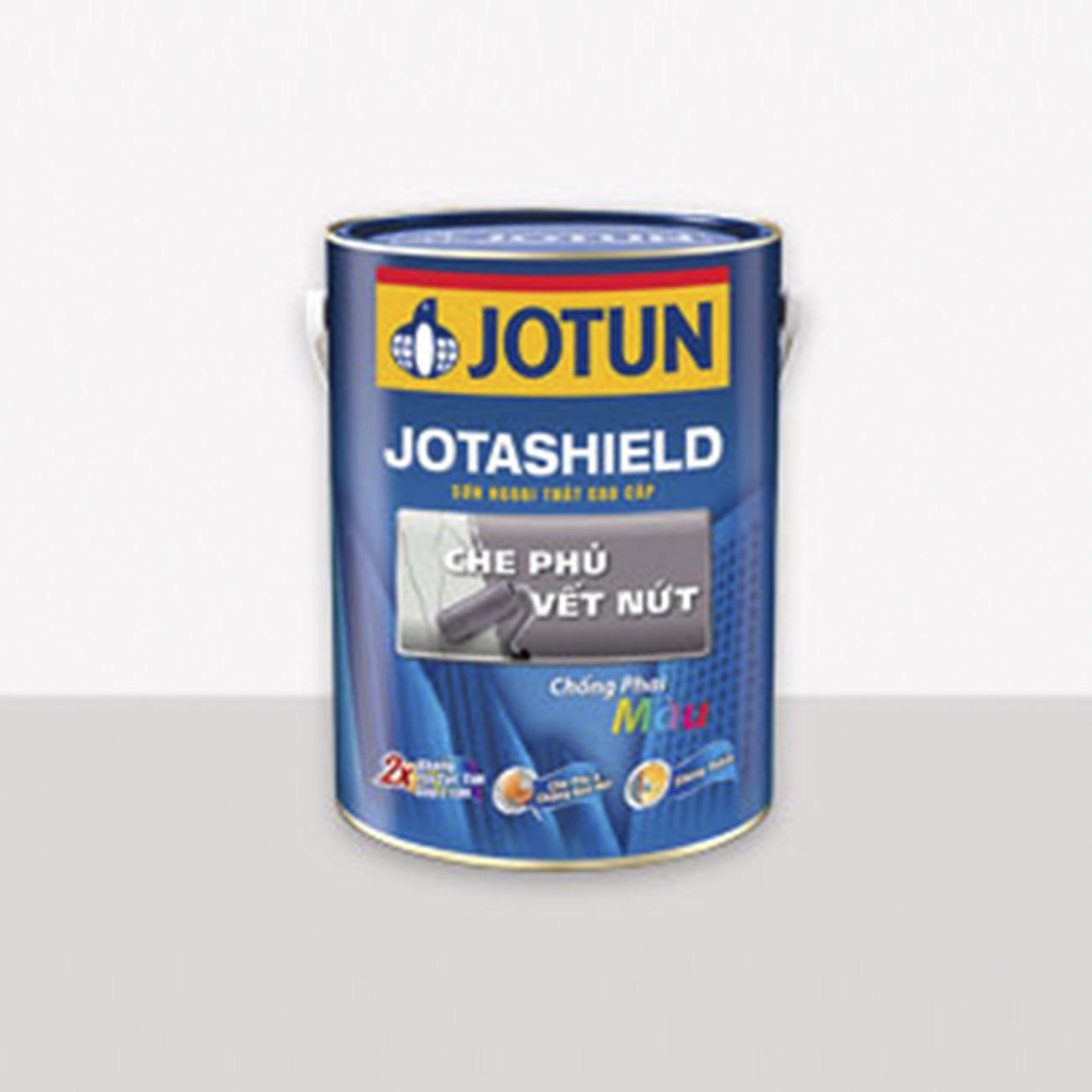 Sơn ngoại thất Jotun Jotashield che phủ vết nứt 5 Lít