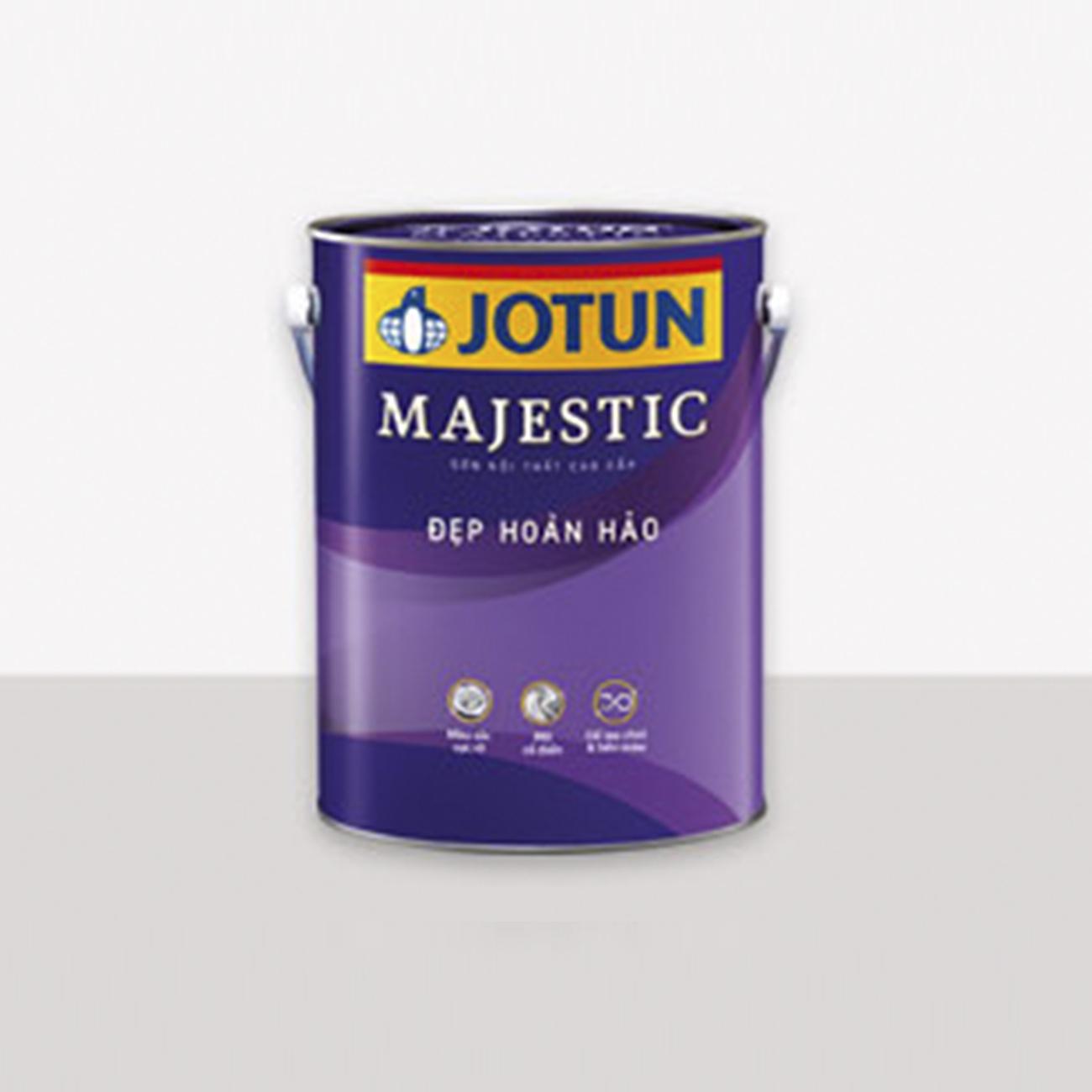 Sơn nội thất Jotun Majestic mờ 5 Lít