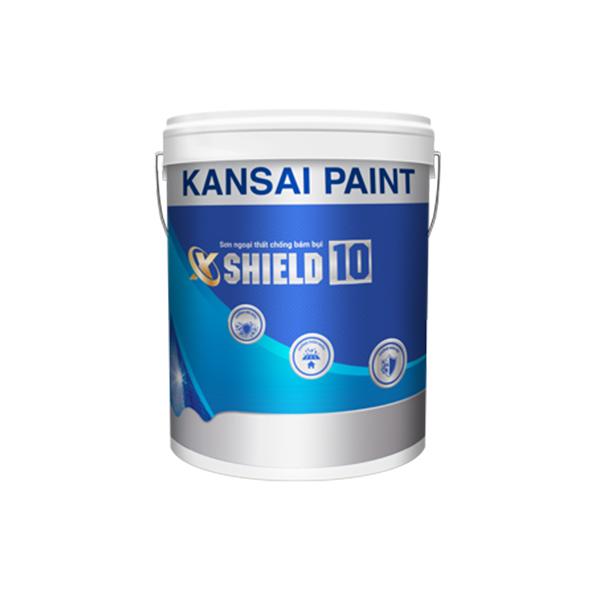 Sơn ngoại thất siêu hạng chống bám bụi X-SHIELD 10