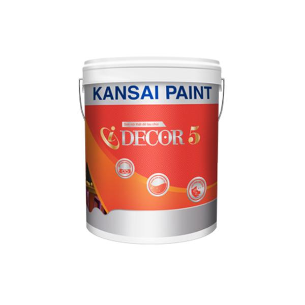 Sơn nội thất lau chùi hiệu quả bóng mờ đẳng cấp  IDECOR 5