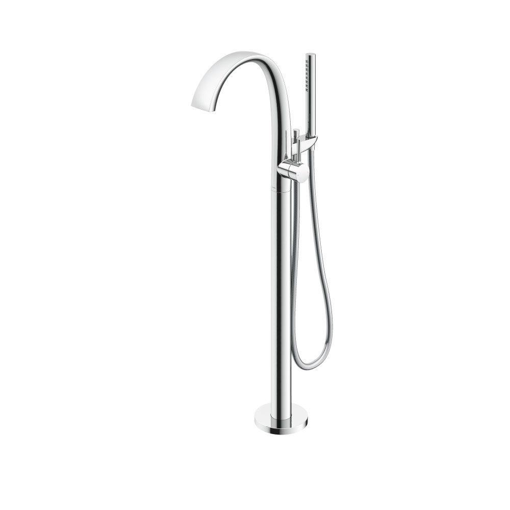 Vòi xả bồn nóng lạnh kèm sen tắm Matsu (loại đặt sàn) (không kèm đế) - Màu Chrome bóng -TOTO - TBP01301A