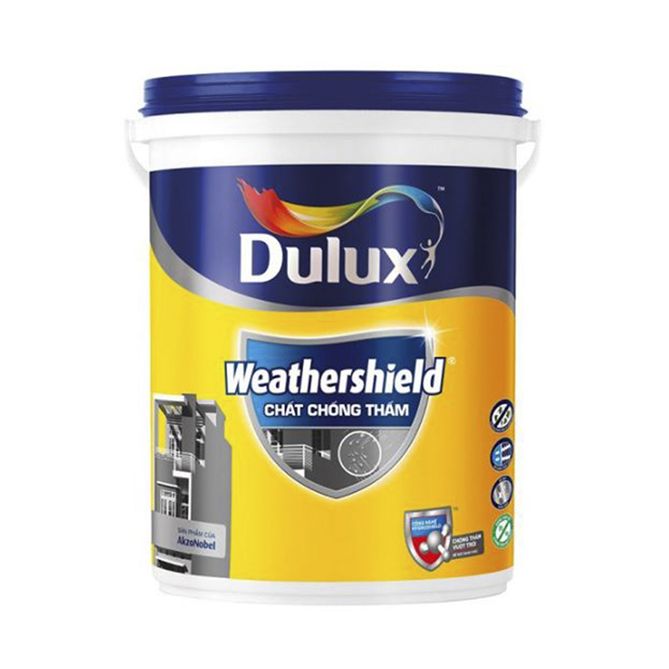 Chống thấm Dulux Weathershield - Y65 (6kg)
